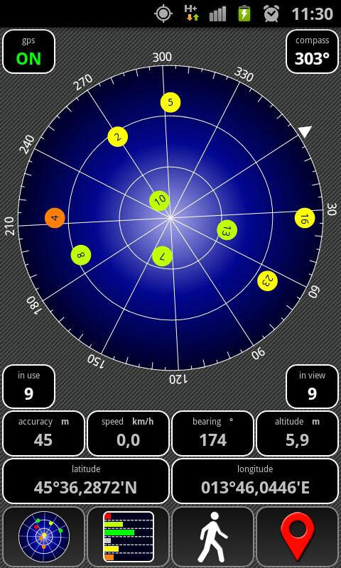 AndroiTS GPS Test Free- screenshot