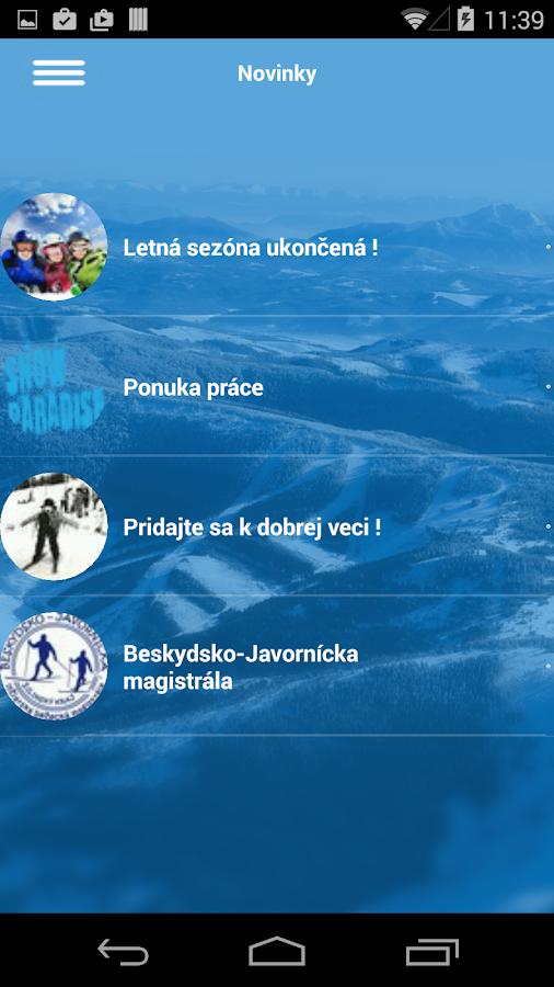 Velka Raca Snowparadise - screenshot