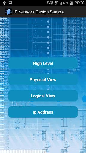 IP NETWORK DESIGN SAMPLE