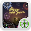 GO Locker Happy New Year Theme logo