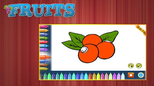 Coloring Book Fruits 1.5.0 screenshots 9