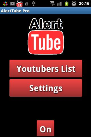 AlertTube for Youtube - screenshot