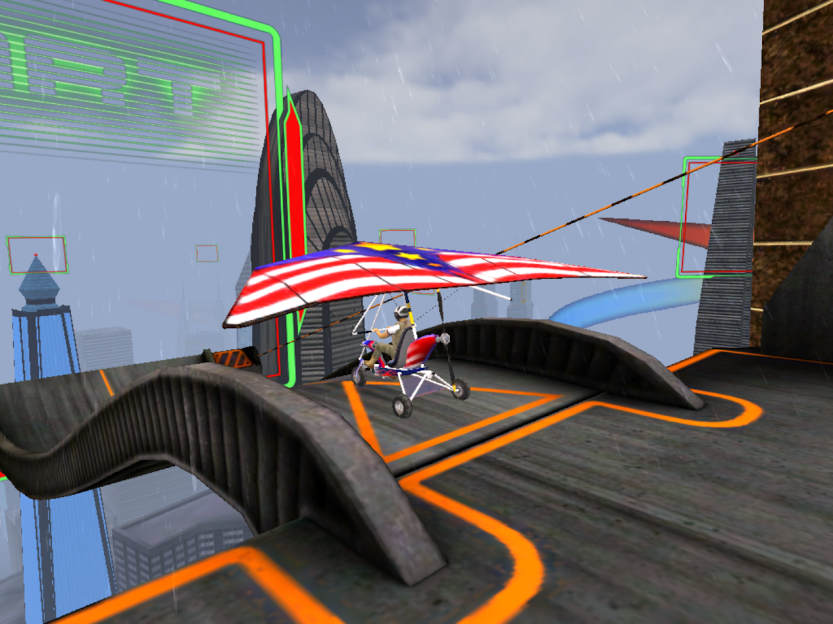 Racing Glider - screenshot