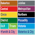 London Tube Map icon