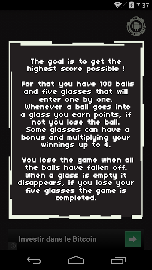 100 balls- screenshot