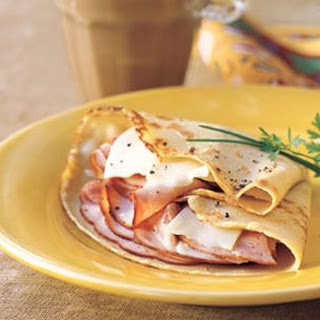 Ham and Gruyère Crepes.
