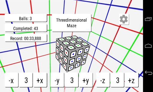 Threedimensional Maze