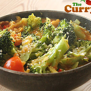 Broccoli Curry - My Favourite Vegetarian Meal.