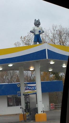 Pump And Pantry >> Creepy Pump Pantry Wolf Portal In Chalco Nebraska United