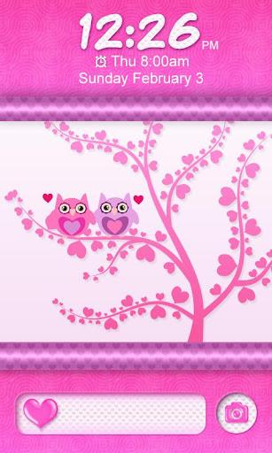 免費下載個人化APP|Cute Love Owls Theme Go Locker app開箱文|APP開箱王