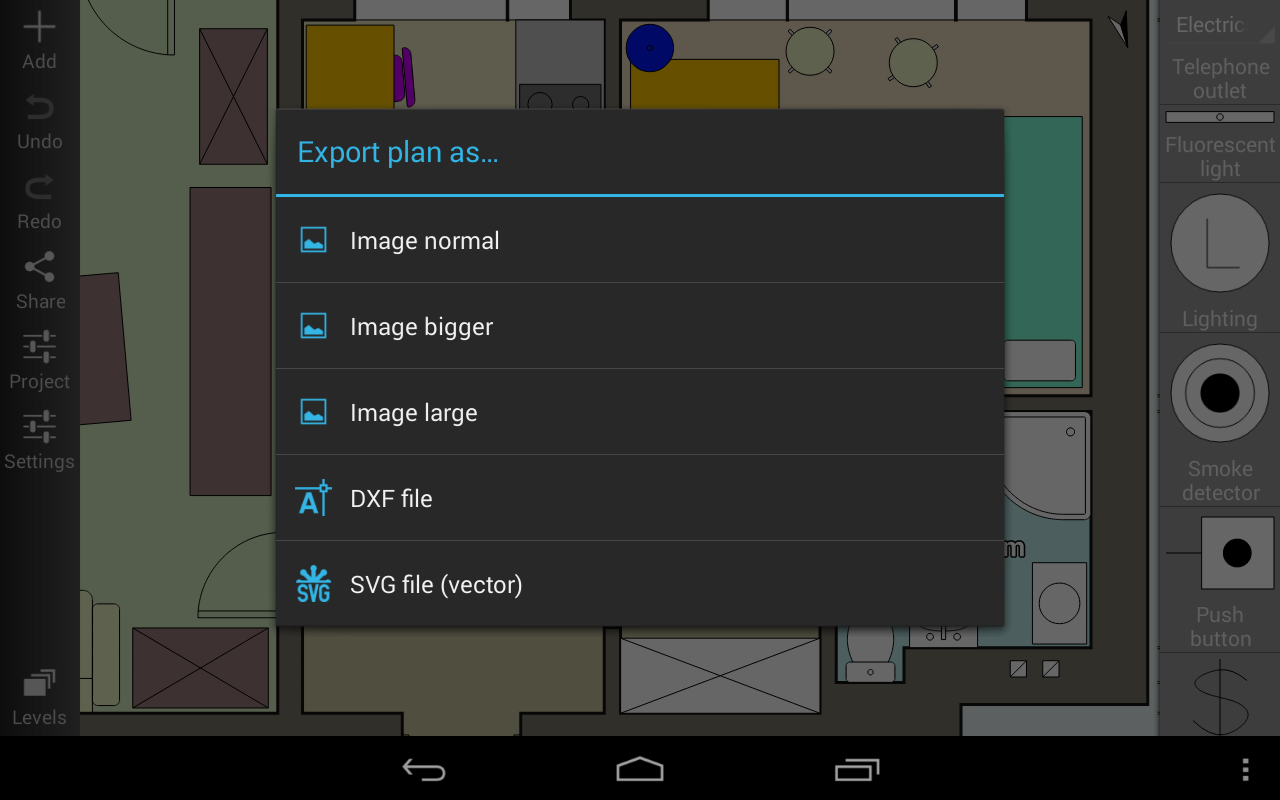 Floor Plan Creator - screenshot