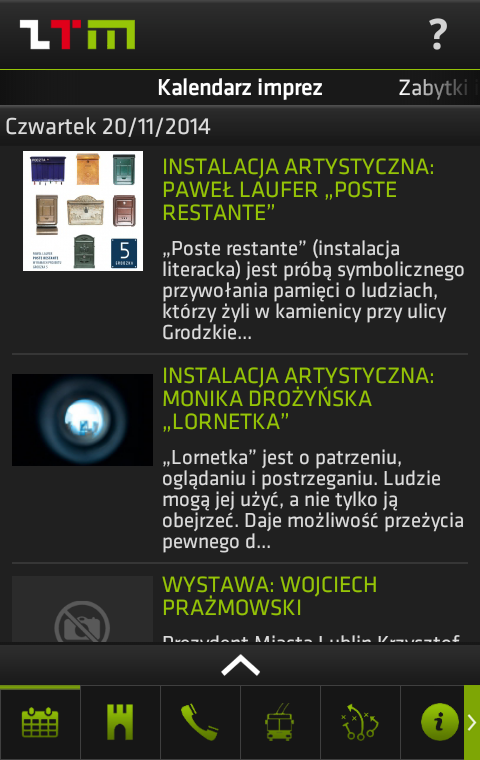 Smart Lublin- screenshot