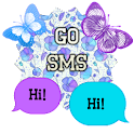 GO SMS - Butterflies 3 icon