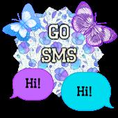 GO SMS - Butterflies 3