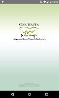 Screenshot of Oak Haven Massage & Bodywork