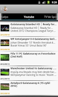 Galatasaray Haber - screenshot thumbnail