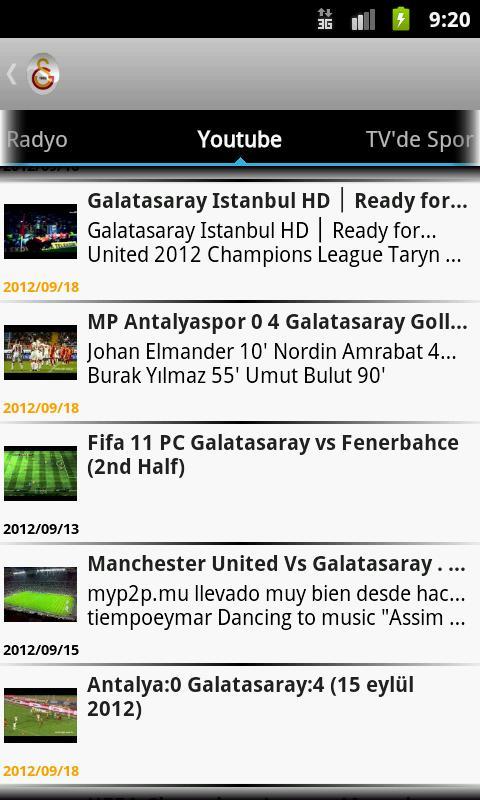 Galatasaray Haber - screenshot