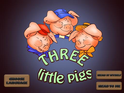 【免費書籍App】Three Little Pigs-APP點子