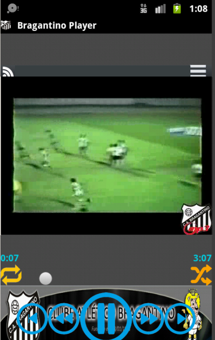 Bragantino Player - screenshot