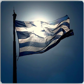 Greece... by Dimitra Antonopoulou - Artistic Objects Other Objects ( flags, blue, greece, white, lanes )