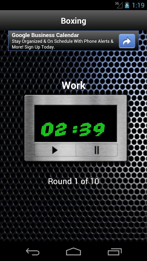 Tabata Exercise Interval Timer- screenshot