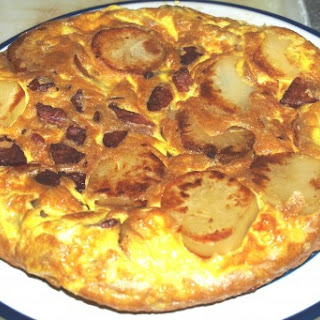 Andouille Tortilla