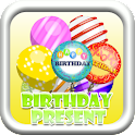 Birthday Floating Presents logo