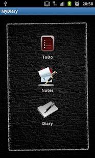 [My Dark Diary] Screenshot 3