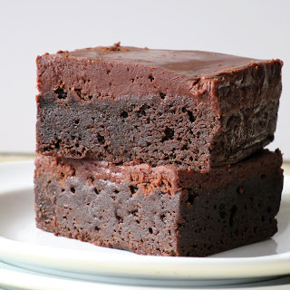 Frosted Fudge Brownies.