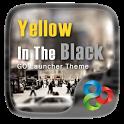 Yellow In The Black GO Theme icon