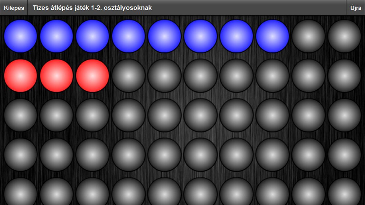 Matematika - Tízes átlépés - screenshot