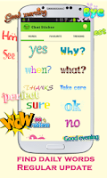 Screenshot of WordArt Chat Sticker WC