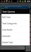 Screenshot of TaskMantra To-do List Free