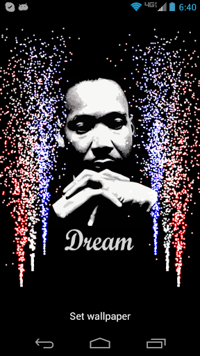 MLK Dream Live Wallpaper