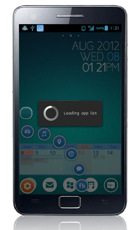 Glass Button (gLas) beta - screenshot
