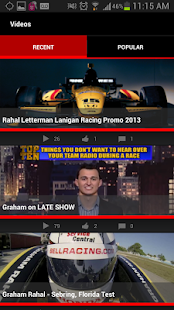 Graham Rahal - screenshot thumbnail