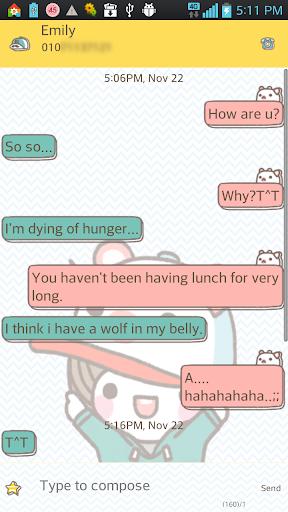 bebesup go sms theme