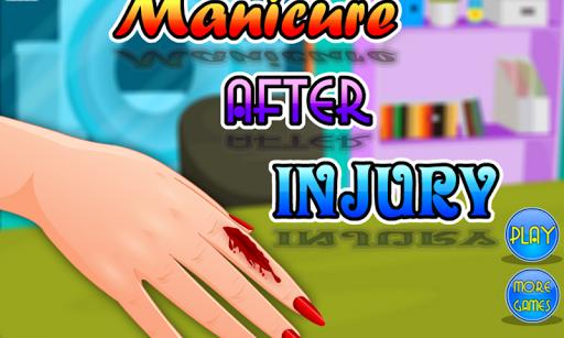玩免費模擬APP|下載부상 후 매니큐어 - 소녀 app不用錢|硬是要APP