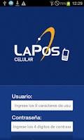 Screenshot of LaPos Celular