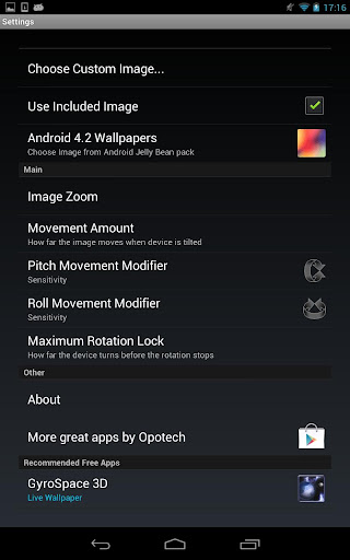 3D Image Android Live Wallpaper v2.0.3 APK