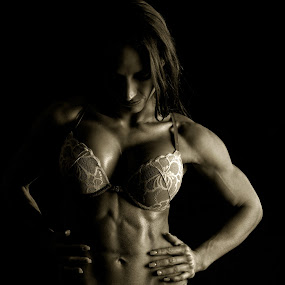 Fitness Diva by Steven Butler - People Portraits of Women ( pose, model, lighting, fitness, woman, diva, portrait )