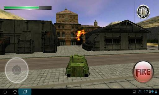 Tank Assault in City