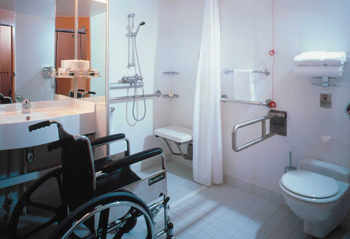 Celebrity_Millennium_Handicap_Access - Celebrity Millennium's suites are all outfitted for travelers with a disability.