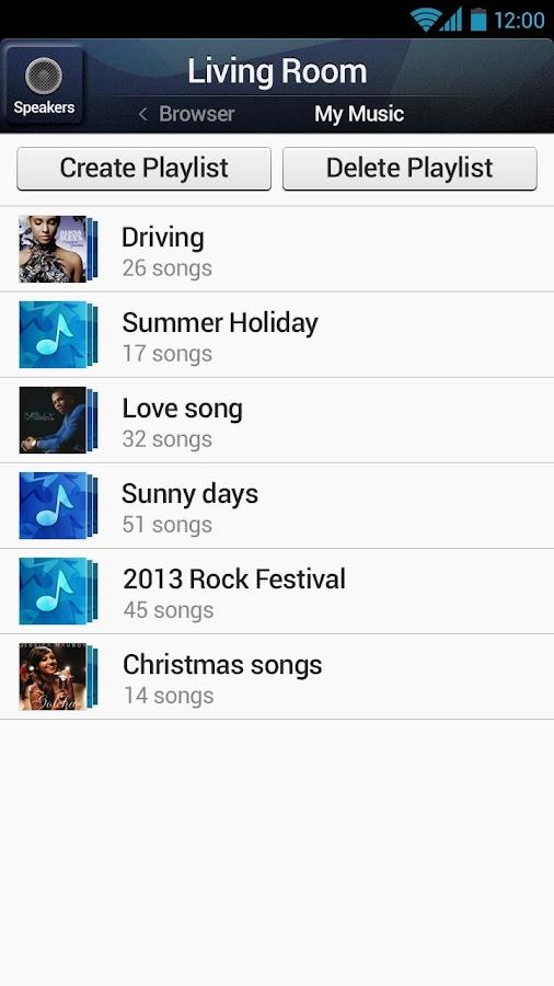 Wireless Audio - Multiroom - screenshot