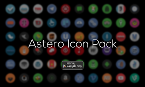 Astero PRO - Icon Pack v1.0.0