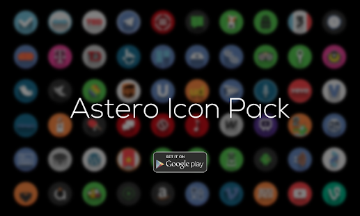 Astero PRO - Icon Pack- screenshot thumbnail