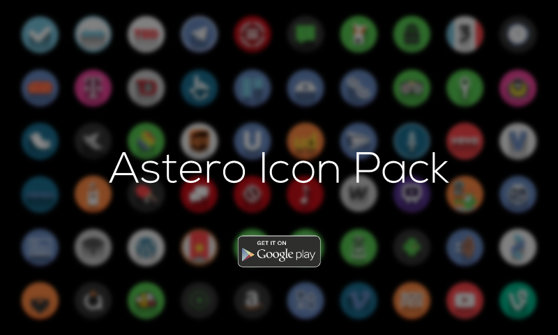 Astero PRO - Icon Pack - screenshot