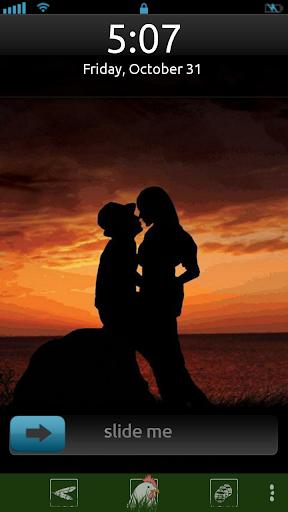 Valentine Kiss Locker Theme