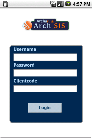 Student Information System - screenshot