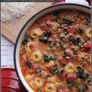 Tuscan Tortellini Soup.